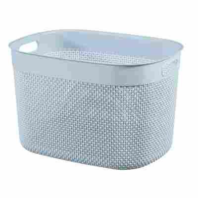 Korb 'Filo Recycling XL' hellblau 30 Liter