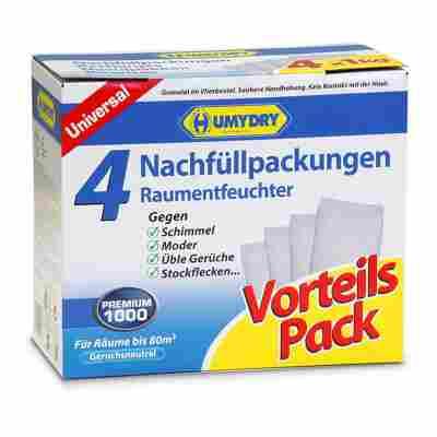 Nachfüllpackungen für Raumentfeuchter 'Premium' 4 Stück