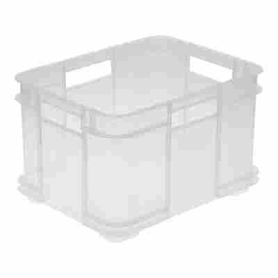 Eurobox M transparent 35 x 27 x 22 cm 16 l