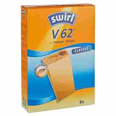 Staubsaugerbeutel 'Classic' V62 8 Stück