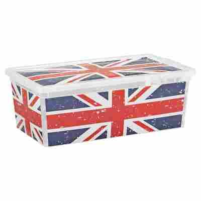 """Kunststoffbox """"C Box"""" Union Jack XS 33,5 x 19 x 12 cm"""