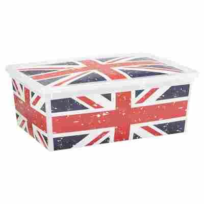 "Kunststoffbox ""C Box"" Union Jack S 37 x 26 x 14 cm"