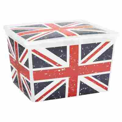 "Kunststoffbox ""C Box"" Union Jack Cube 40 x 34 x 25 cm"