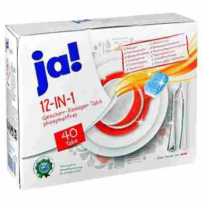 Geschirrtabs 12in1 40 Stück