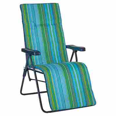 Relaxliegestuhl 'Fiesta' mehrfarbig, 85 x 100 x 60 cm