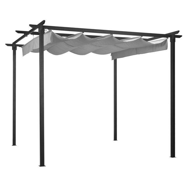 pergola pavillon lori beige 286 x 230 cm toom baumarkt. Black Bedroom Furniture Sets. Home Design Ideas
