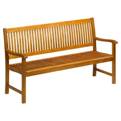 Gartenbank Florida Mit Tisch 3 Sitzer Braun 159 X 88 X 60 Cm
