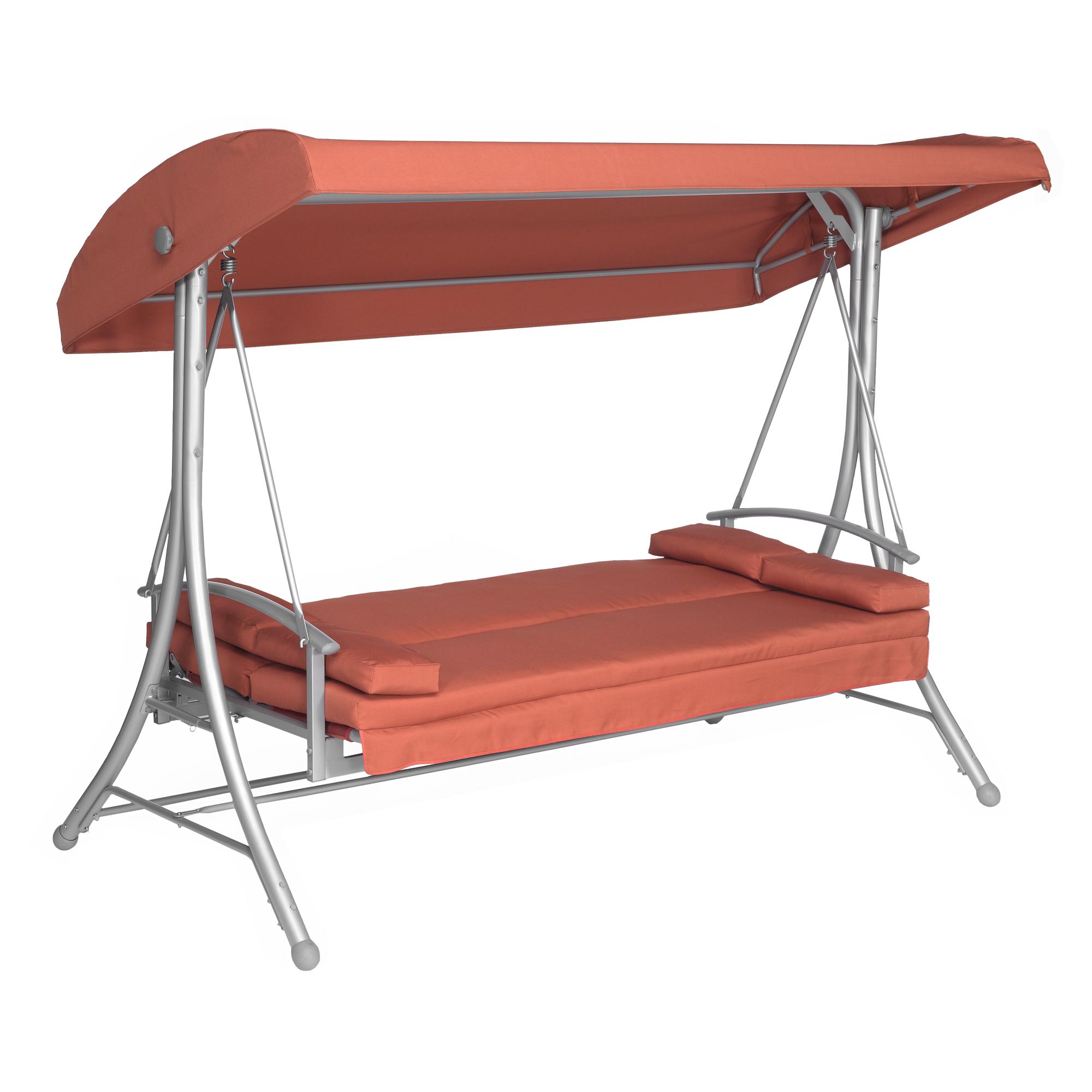 hollywoodschaukel sophia 3 sitzer lachsfarben toom. Black Bedroom Furniture Sets. Home Design Ideas