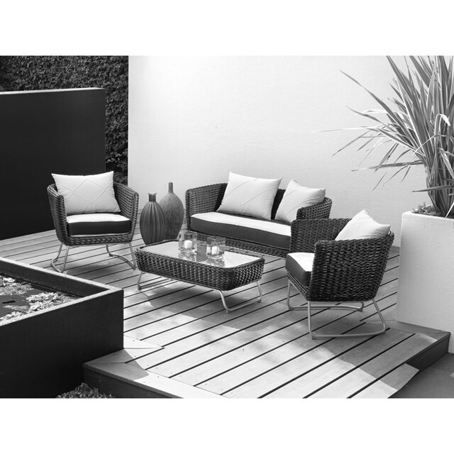 gartenm bel set mila rattan 4 tlg toom baumarkt. Black Bedroom Furniture Sets. Home Design Ideas