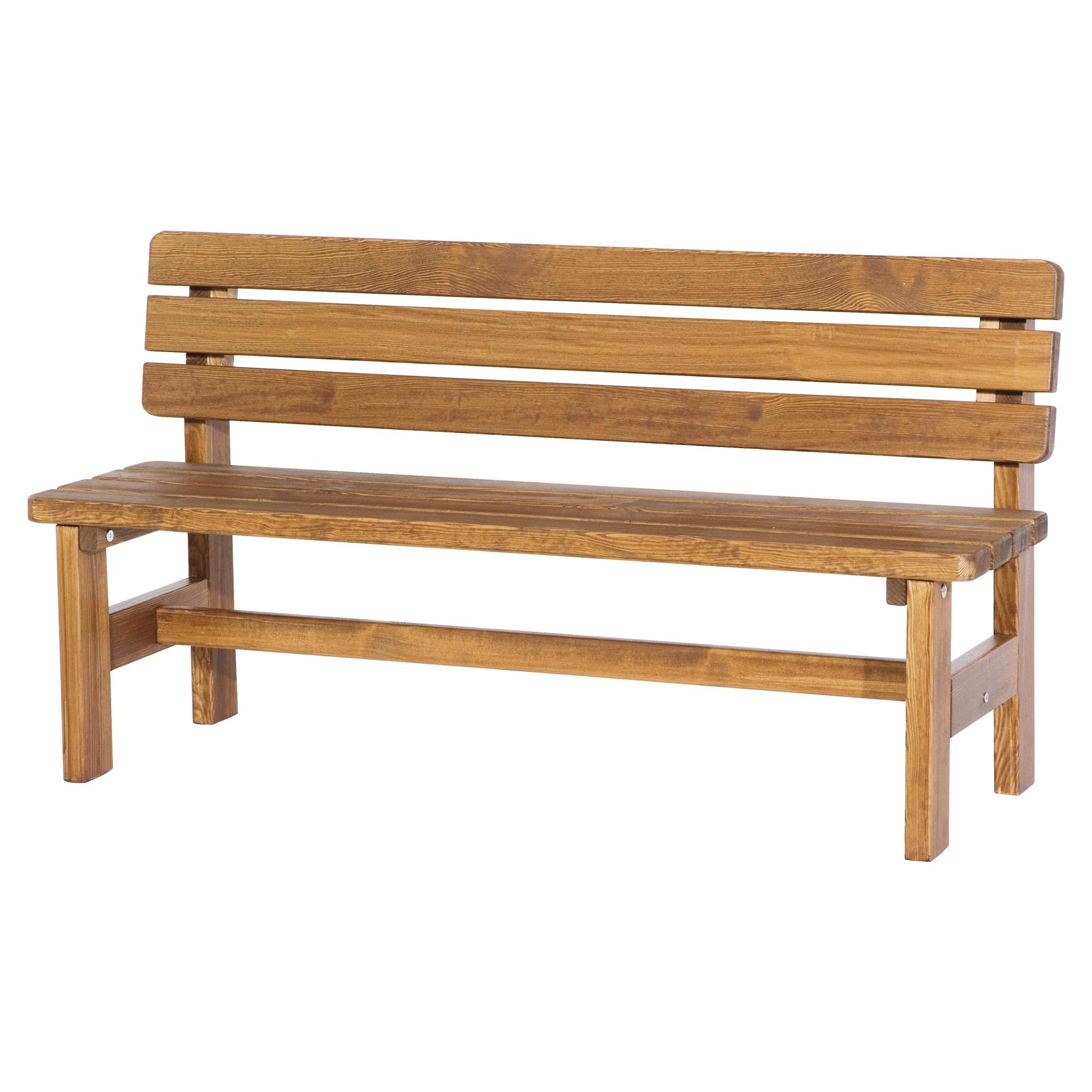 "Gartenbank ""Tessin"" Holz 150 X 80 X 41 Cm | Toom Baumarkt"