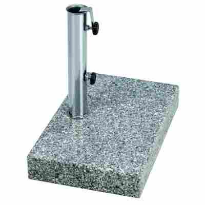 Granit-Balkonschirmständer 25 kg grau