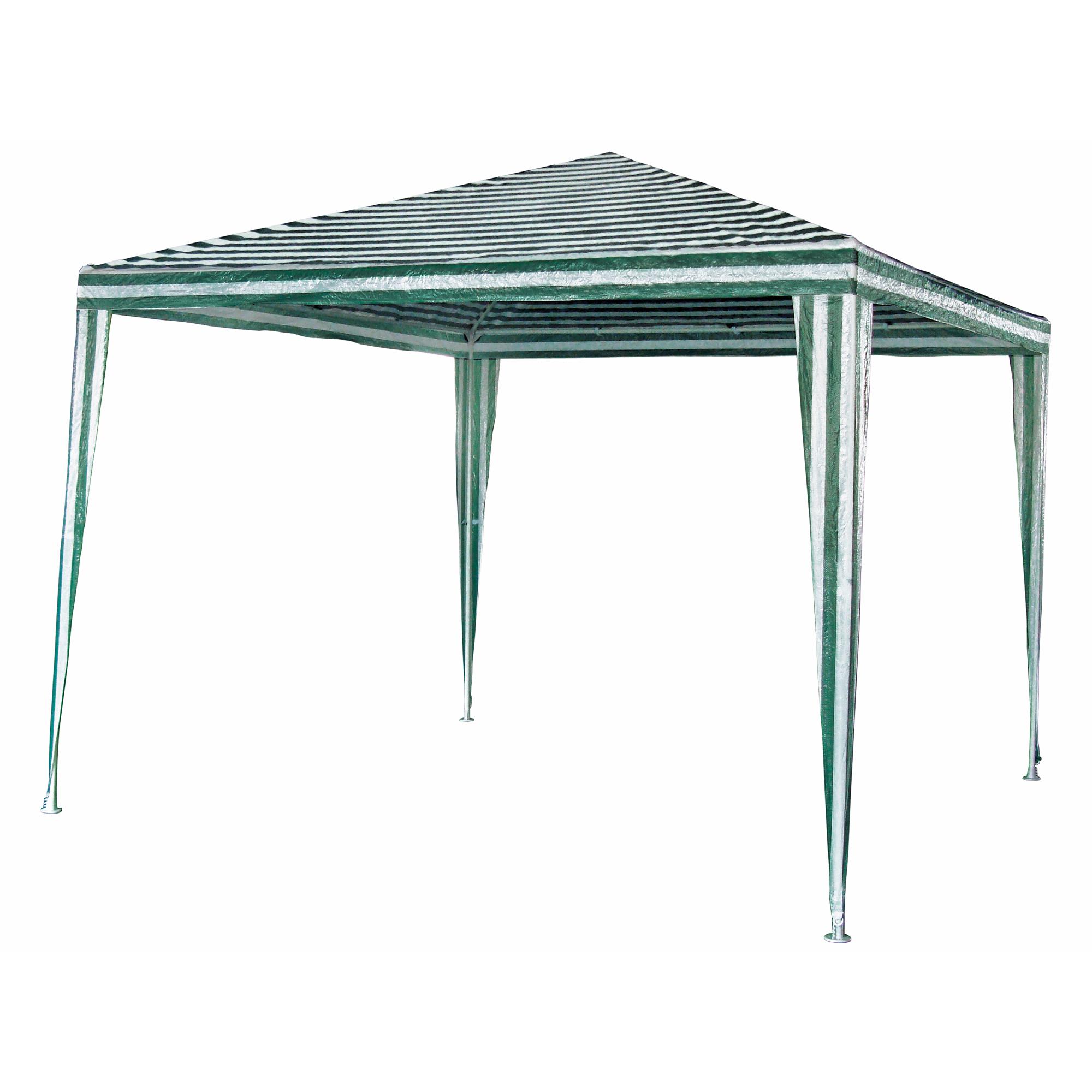 Berühmt Pavillon Polyethylen grün/weiß 3 x 3 m ǀ toom Baumarkt GG73