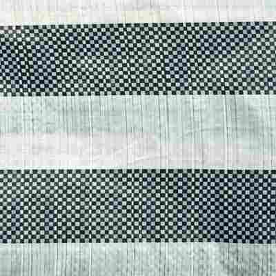 Seitenteil für Gartenpavillon grün/weiß 298 x 196 cm