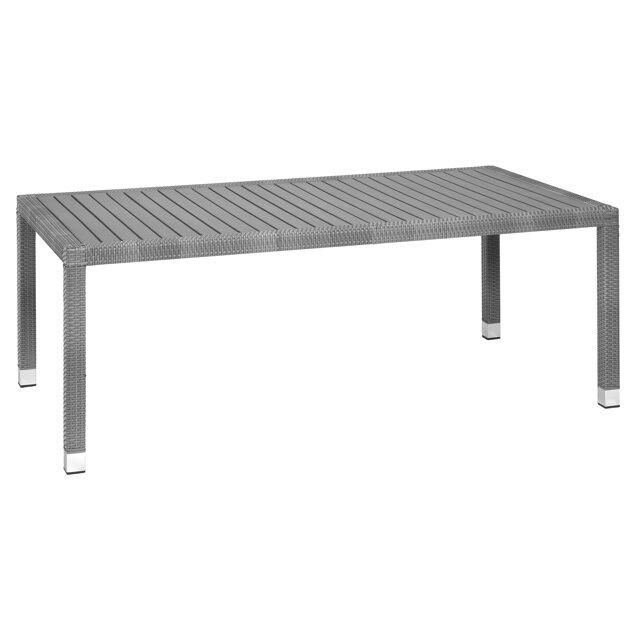 Gartentisch Elisa Grau 210 X 110 X 75 Cm ǀ Toom Baumarkt