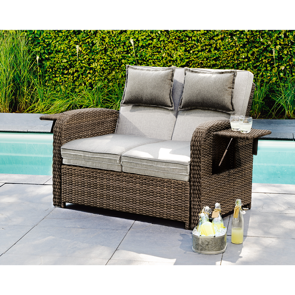 Multifunktions sofa trinidad 117 x 90 x 90 cm toom for Sofa exterior 120 cm