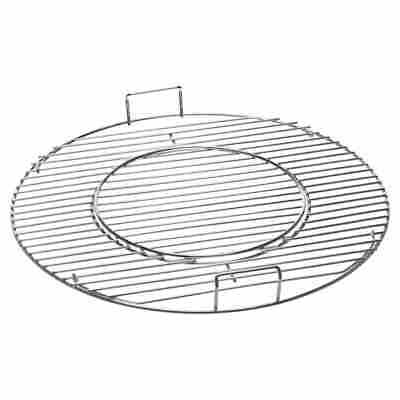 Grillrost Ø 54,4 cm, herausnehmbares Innenrost, Stahl