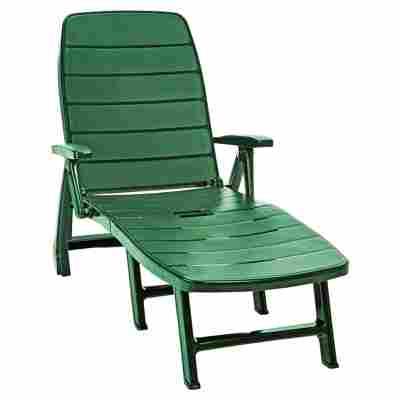 Rollliege 'Jazz' Kunststoff grün 190 x 73 x 37 cm