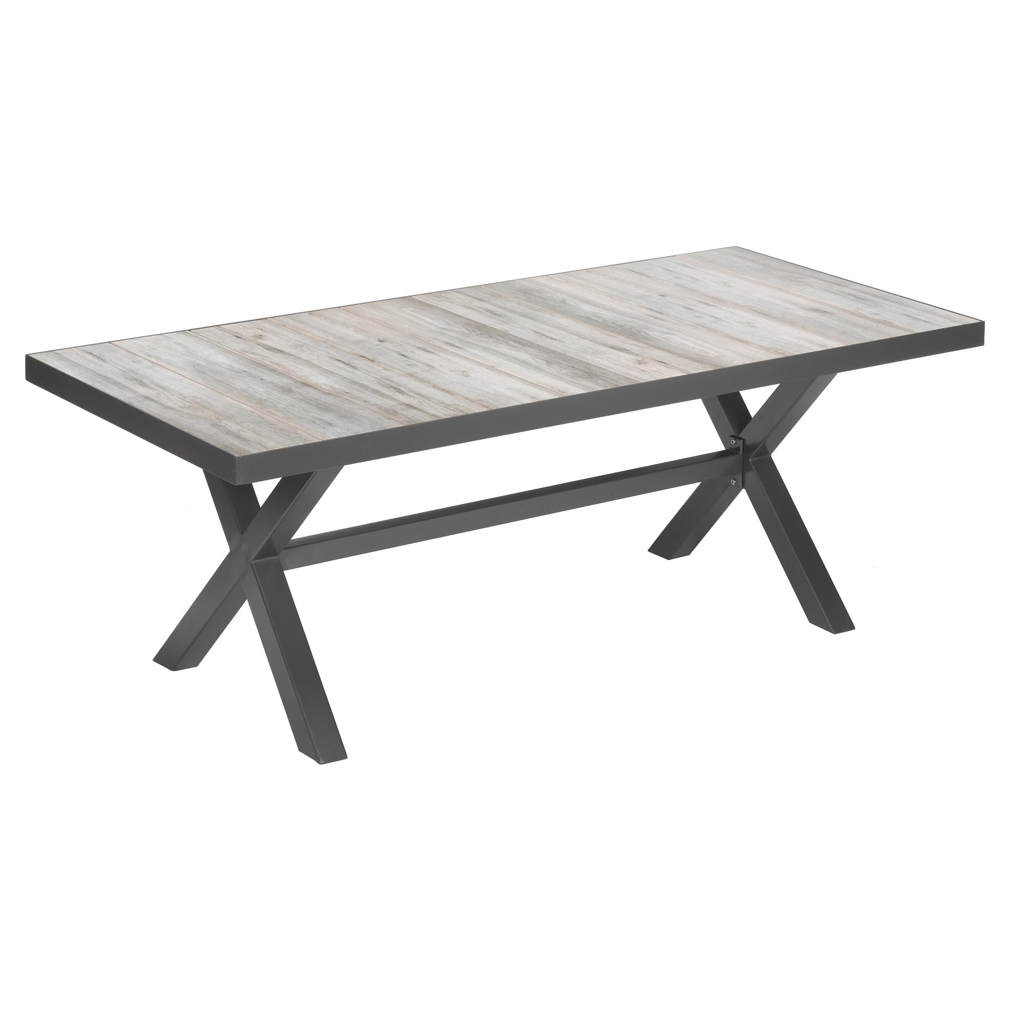 Gartentisch Kunststoff Holzoptik Good Tisch Sthleauen Tarn Schwarz