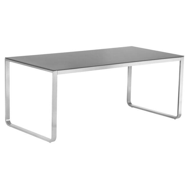 Gartentisch Nadine Glas Stahl Grau 180 X 90 X 75 Cm ǀ Toom Baumarkt