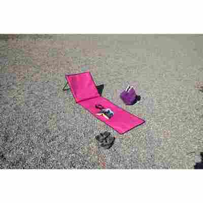 Strandliege 'Sunny' pink 150 x 53 x 1 cm