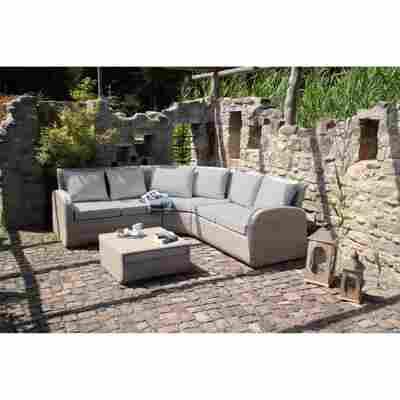 Lounge-Set 'Vera' beige 2-teilig