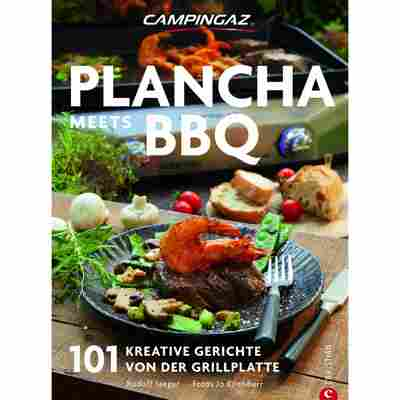 Grillbuch 'Plancha meets BBQ: 101 kreative Gerichte von der Grillplatte'