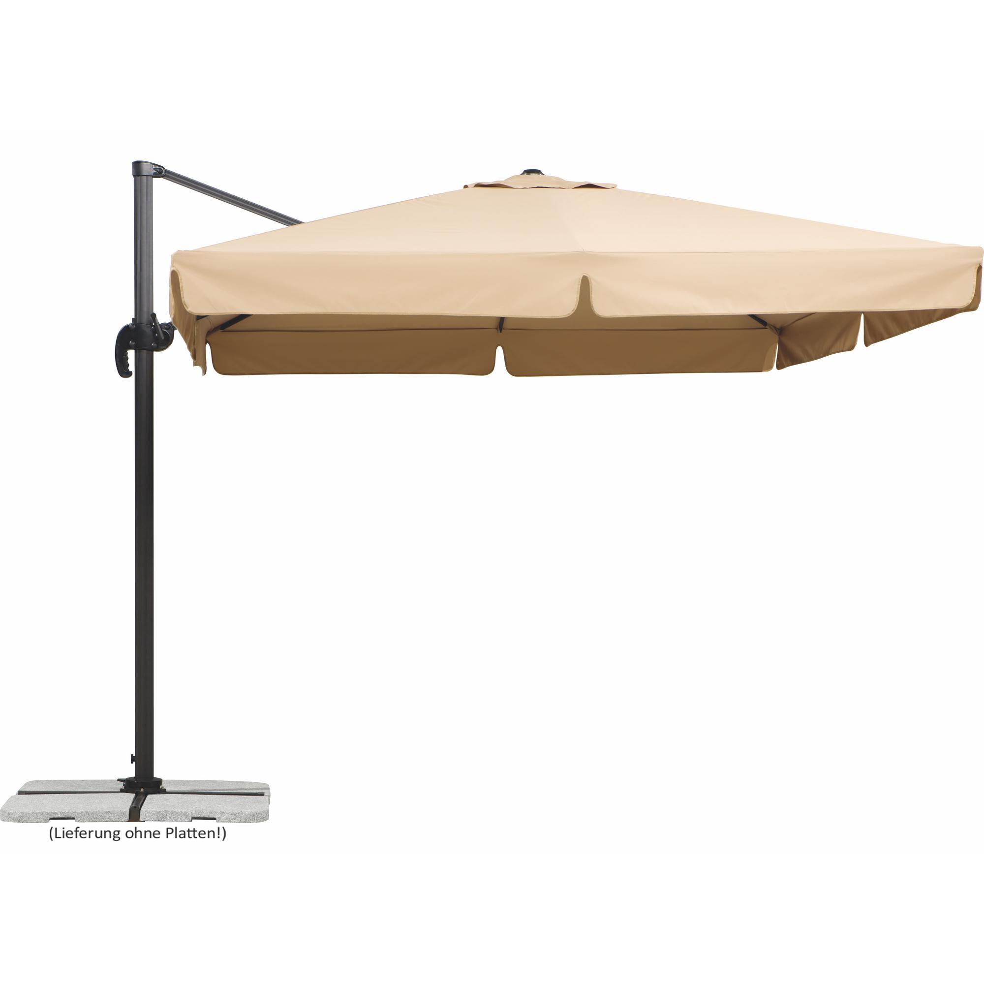 Schneider Schirme Ampelschirm Rhodos in natur