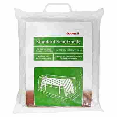 Standard Schutzhülle für Möbelgruppe PE-Bändchengewebe transparent 170 x 150 x 95 cm