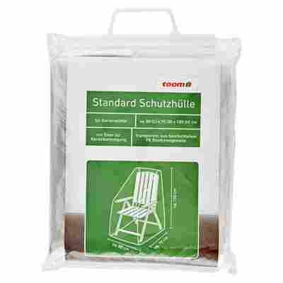 Standard Schutzhülle PE-Bändchengewebe transparent 100 x 80 x 70 cm