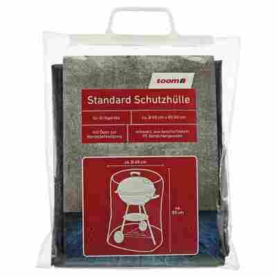 Standard Schutzhülle für Kugelgrills PE-Bändchengewebe schwarz Ø 60 x 85 cm