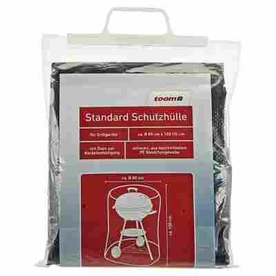 Standard Schutzhülle für Kugelgrills PE-Bändchengewebe schwarz Ø 80 x 100 cm