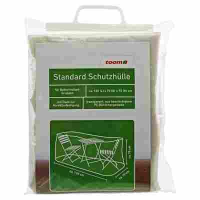 Standard Schutzhülle für Möbelgruppen PE-Bändchengewebe transparent 120 x 70 x 75 cm