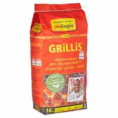 """Holzkohlebriketts """"Grillis"""" 10 kg"""