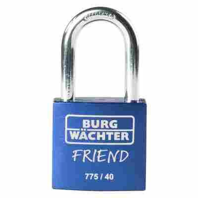 Zylinder-Vorhangschloss 775 40 35 Blau SB