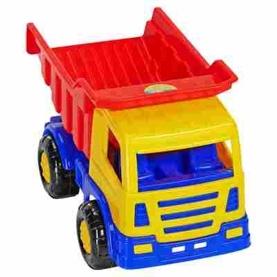 Spielzeug-LKW gelb/rot/blau