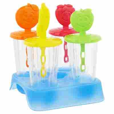 Förmchen Eis am Stiel Kunststoff 4 Stück