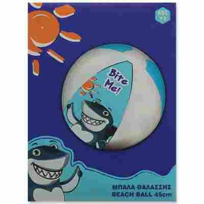 Wasserball 'Hai' blau Ø 45 cm