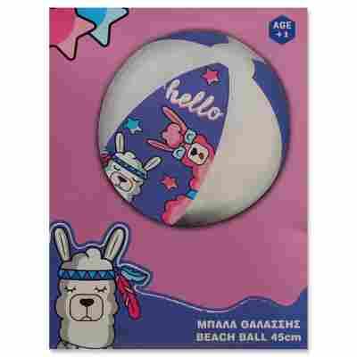 Wasserball 'Lama' violett Ø 45 cm