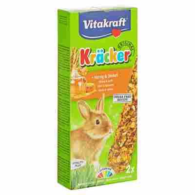 """Kaninchenfutter """"Kräcker® Original"""" Honig und Dinkel 2 Stück"""