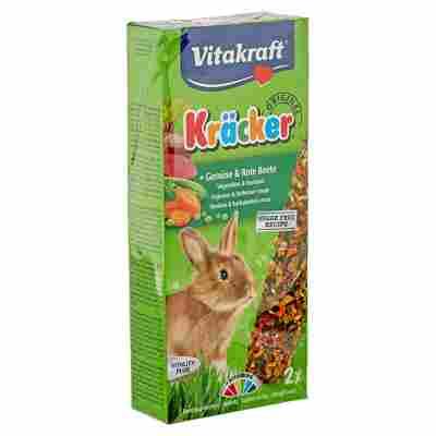 """Kaninchenfutter """"Kräcker® Original"""" Gemüse und rote Beete 2 Stück"""