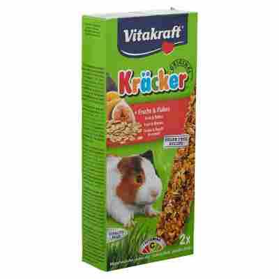 Meerschweinchenfutter Kräcker® Original Frucht/Flakes 2 Stück