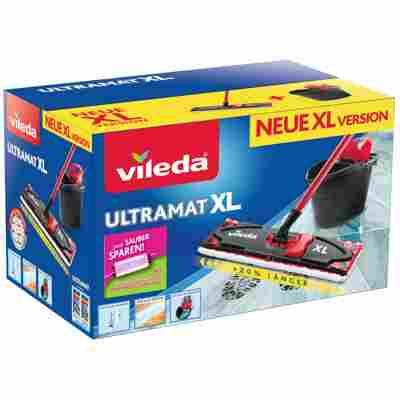 Bodenwischer-Set 'UltraMat XL' mit Ersatzbezug Sensitive