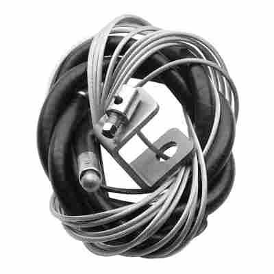 Chamberlain Torgriff-Notentriegelung silbern