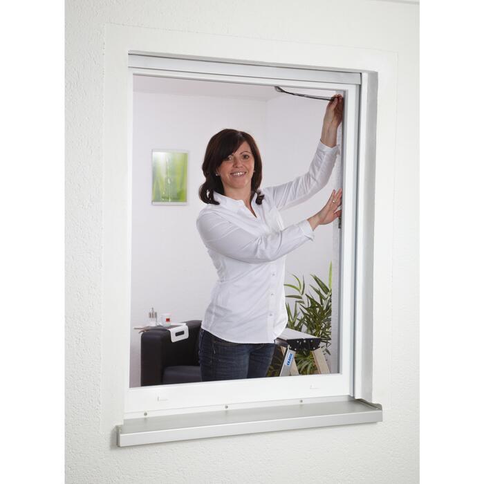 Insektenschutzgitter Fenster Anthrazit 130 X 150 Cm ǀ Toom Baumarkt