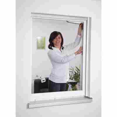 Insektenschutzgitter Fenster anthrazit 130 x 150 cm