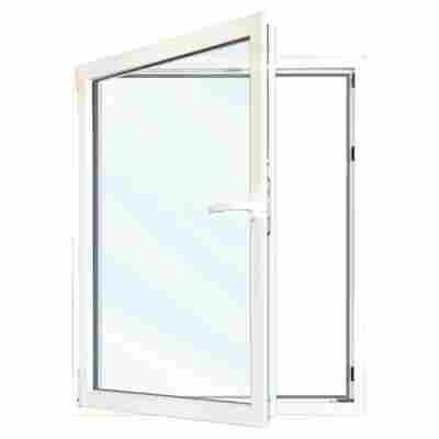 Fenster 76/3 weiß 900 x 900 mm links