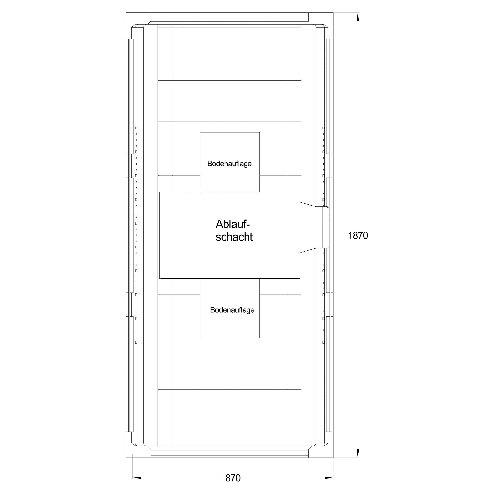 Wannentrger Rosa 1870 X 870 Mm Toom Baumarkt Traeger Schematic