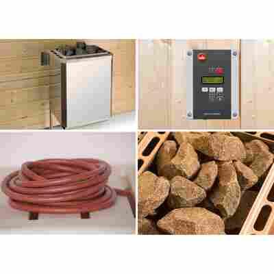 Saunaofen-Set 'OS' 9 kW