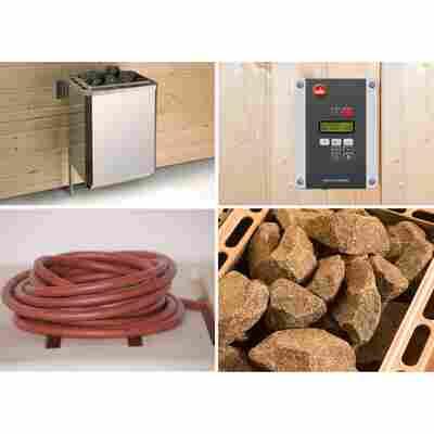 Saunaofen-Set 'BioS' 9,0 kW