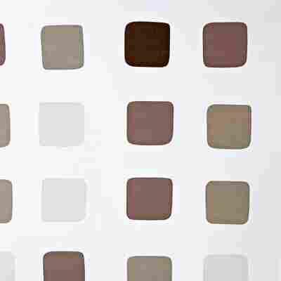 Duschrollo grau 128 x 240 cm